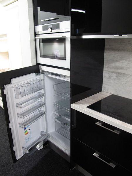 Hoogglans keuken 366 cm Siemens app.